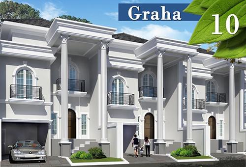 Jual Town House Graha 10 Murah Harga Mulai 1.8 M di Kramat Jati Jakarta Timur