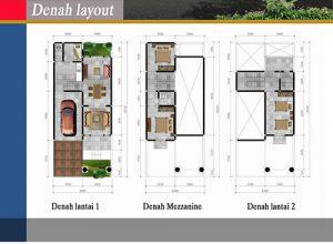 Jual Town House Graha 10 HP/WA: 0812 1301 0011