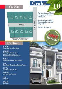 Jual Rumah Town House Graha 10 Murah Harga Mulai 1.8 M di Jakarta Timur
