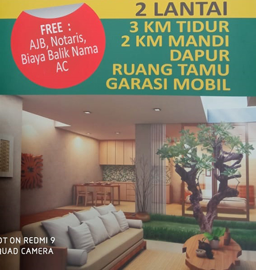 Jual Town House Serenity 0812 1301 0011