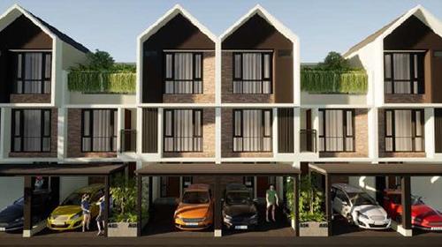 Jual Town House Aditama Residence Mulai 2.3 M di Pasar Minggu