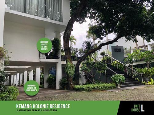 Jual Rumah Kemang Kolonie Residence mulai 5.5 M di Jakarta Selatan