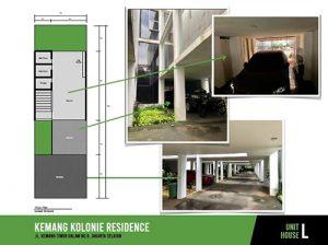 Jual Town House Kemang Kolonie Residence Murah di Kemang Jakarta Selatan