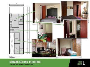 Jual Town House Kemang Kolonie Residence mulai 5.5 M di Jakarta Selatan