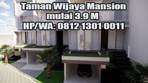 Jual Rumah Taman Wijaya Mansion mulai 3.9 M di Cilandak Jakarta Selatan