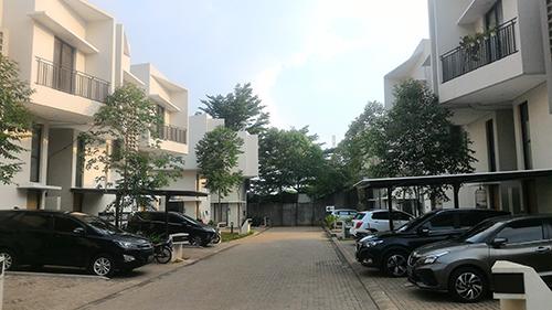 Jual V Town House di Sawah Baru Tangerang Selatan